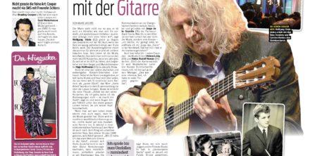 12. Juni 2013, Neue Presse, Der Mann mit der Gitarre