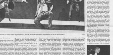 18. November 2013, Neue Presse, Ein Nagel  für Stute