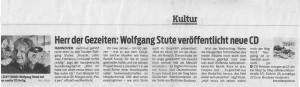 Zeitungsausschnitt Neue Presse Herr der Gezeiten