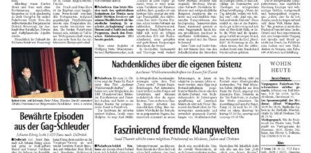 06. Oktober 2013, Kritik Paderborn – Auf letzter Mission für Musica sacra