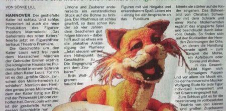 29. April 2014, NP, Gestiefelter Kater genießt Alterssitz auf Müllerhemden
