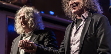 Wolfgang Stute und Thomas Roth